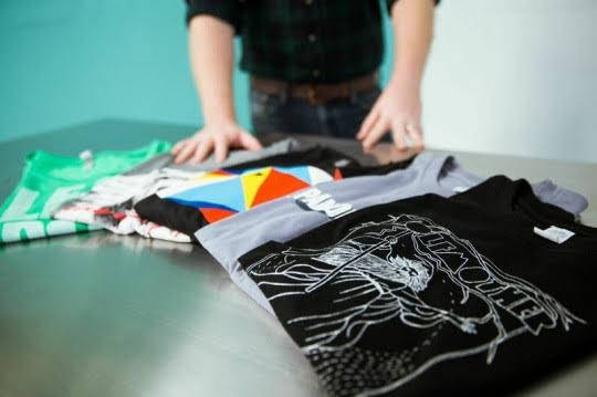 STEPS OF T-SHIRT PRODUCTION